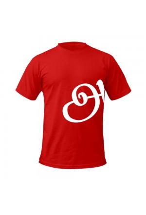 Fashionable Tamil T-shirt Red